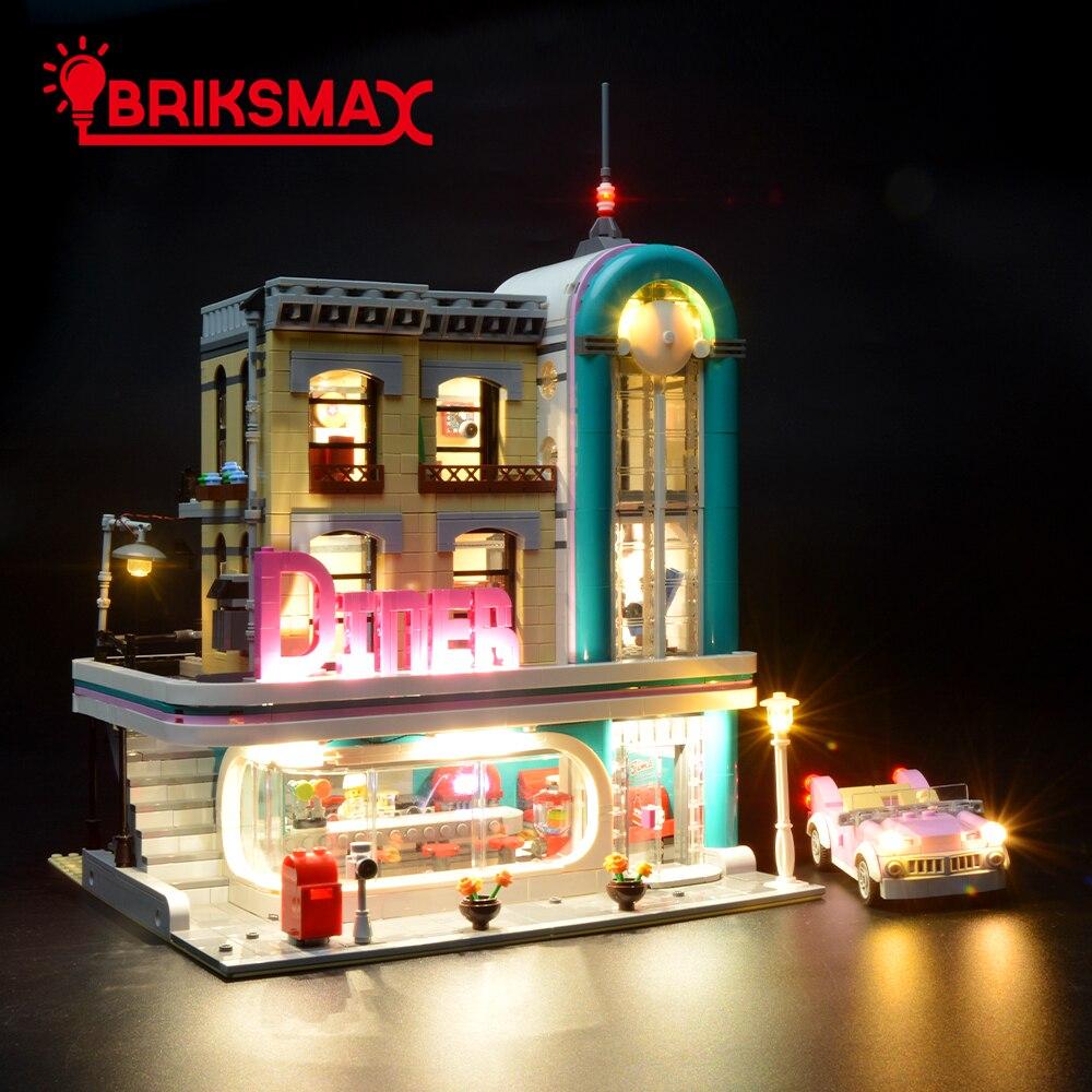 BriksMax Led Light Kit For Cerator Expert Downtown Diner Building Blocks Model Lighting Set Compatible With 10260BriksMax Led Light Kit For Cerator Expert Downtown Diner Building Blocks Model Lighting Set Compatible With 10260