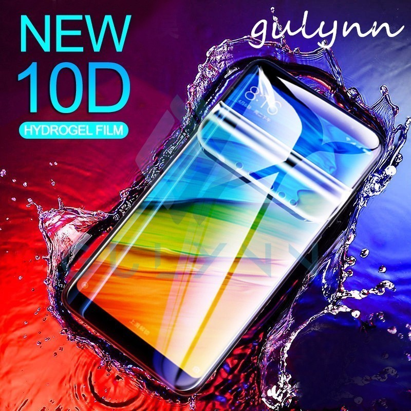 10d Soft Hydrogel Film For Xiaomi Redmi 6 Pro 6a 6 5 Plus 4x Screen Protector On For Xiaomi Redmi Note 5 6 7 Note 4x Not Glass To Make One Feel At Ease And Energetic