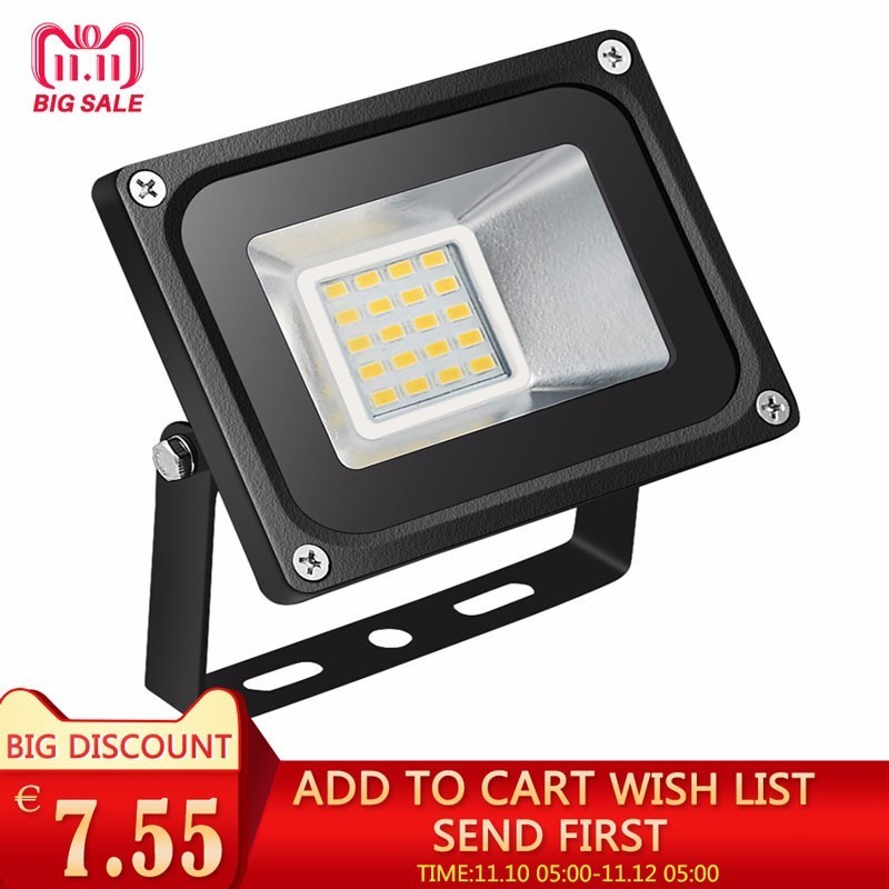 Waterproof LED Flood Light 20W 220/240V Projecteur Foco Led Floodlight Refletor Spotlight Outdoor Spotlight LED Street Lights