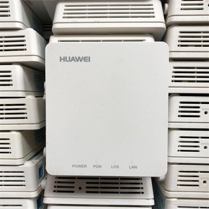 90% neue verwendet 20 stücke Huawei HG8010H/C EPON ONU ftth faser verwendet GPON ont router 1GE Ont ohne boxen und power