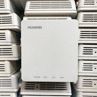 90% yeni 20 adet Huawei HG8010H/C EPON ONU ftth fiber kullanılan GPON ont yönlendirici 1GE Ont olmadan kutuları ve güç