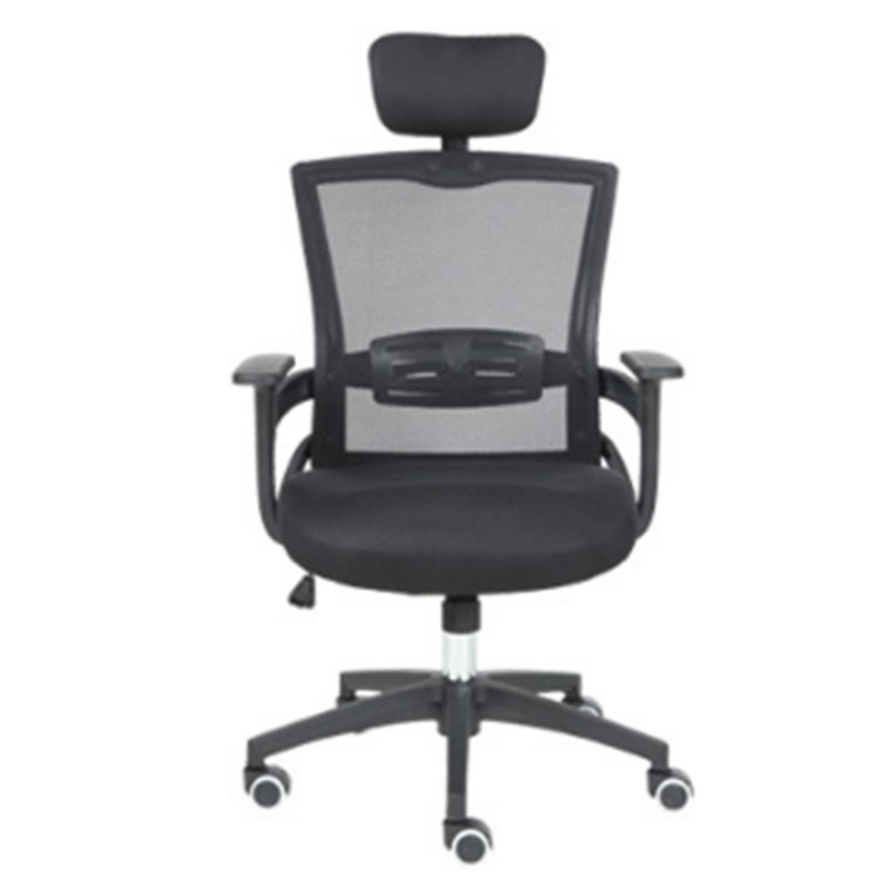 Fashion To Work An Office Black Screen Cloth Staff Member Chair Household Fashion Swivel Chair Student Lift Chair