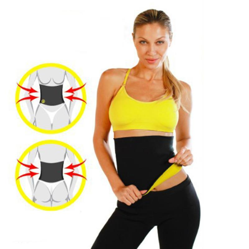 Sauna Slimming Waist Belts Lady Weight Loss Belt Sweating Fitness Waist Trainers Belts Lover Beauty Thermo Body Shaper Girdles