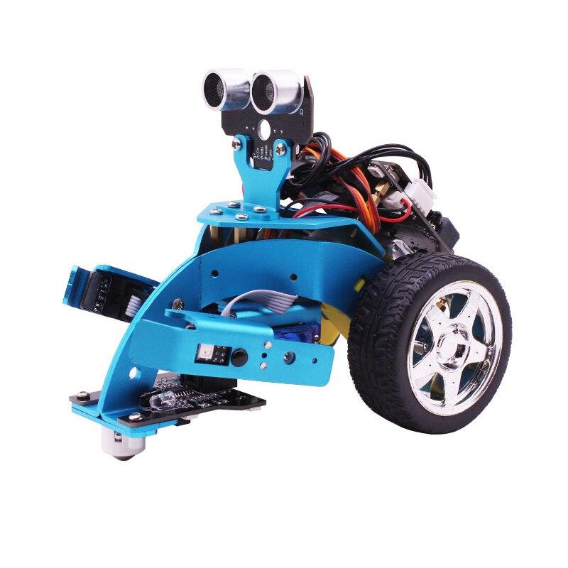 Pour Mirco: Bit bricolage 3 en 1 programmation intelligente Robot voiture Kit potence éducation pour 10 + enfants pour apprendre la Science robotique Hellobot Starte