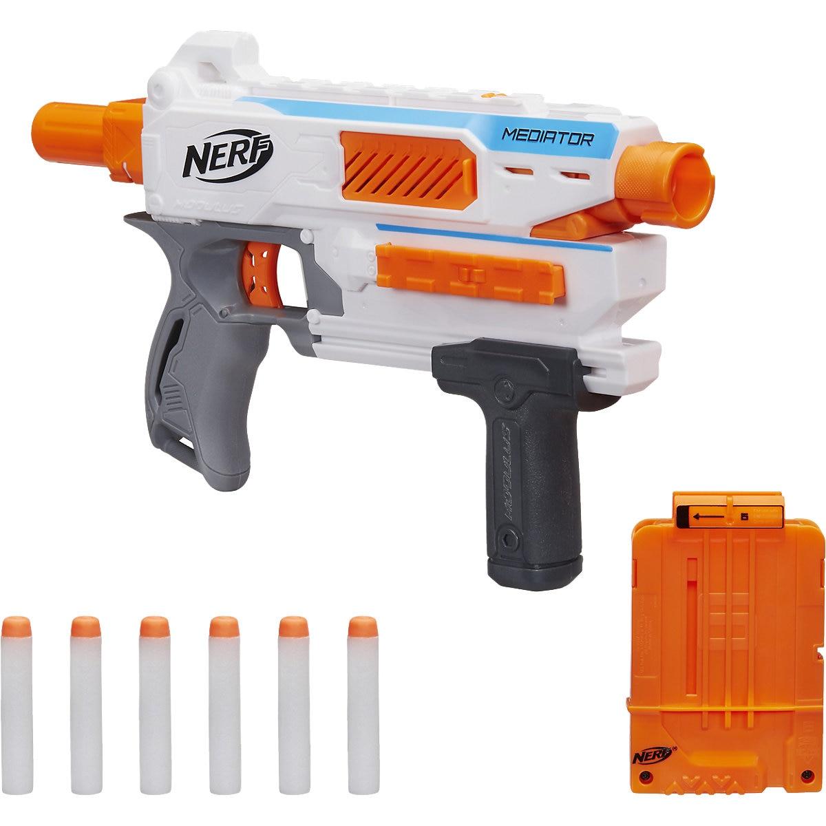NERF Toy Guns 7196314 gun weapon toys games pneumatic blaster boy orbiz revolver Outdoor Fun Sports MTpromo