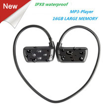 Newest 901P Waterproof 16G HIFI MP3 Player IPX8 Swimming Out
