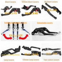 For DUCATI Multistrada 1200/1260/S/GT 1200S 1200GT 1260S 1260GT Diavel CNC Motorcycle 8 Different Style Clutch Brake Levers