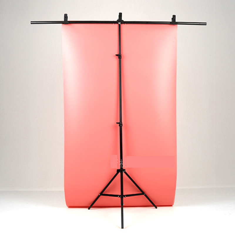 T shaped Background Frame Photography Background Board Bracket Support PVC Soft Paper Stand System for Photo Studio Accessories