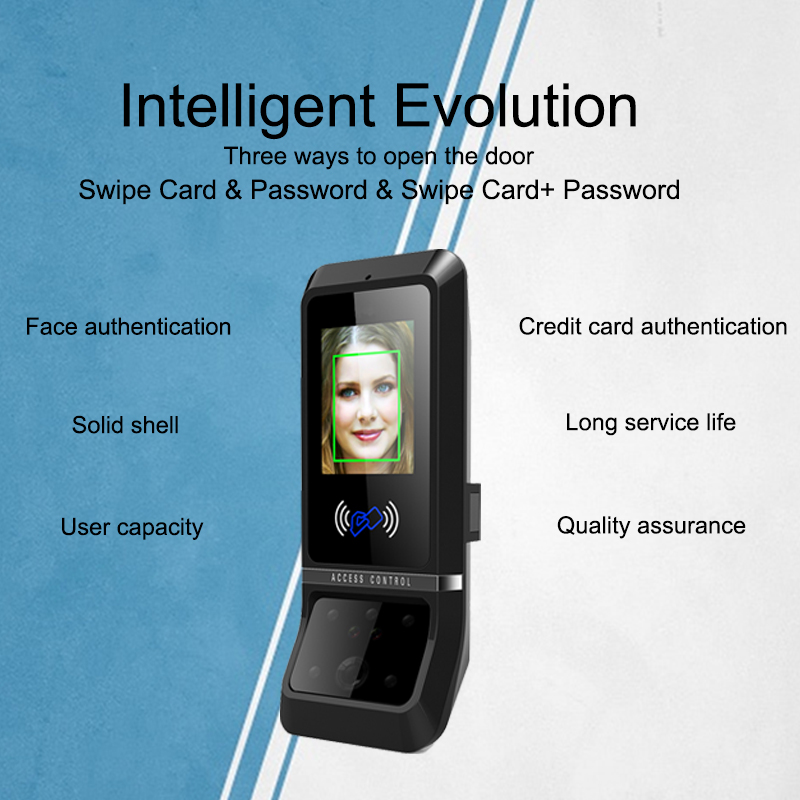 Oulet Face Recognition Time Attendance System TCP/IP Door Access Control Swipe Clock Employee Device Office Attendance Machine  Oulet Face Recognition Time Attendance System TCP/IP Door Access Control Swipe Clock Employee Device Office Attendance Machine