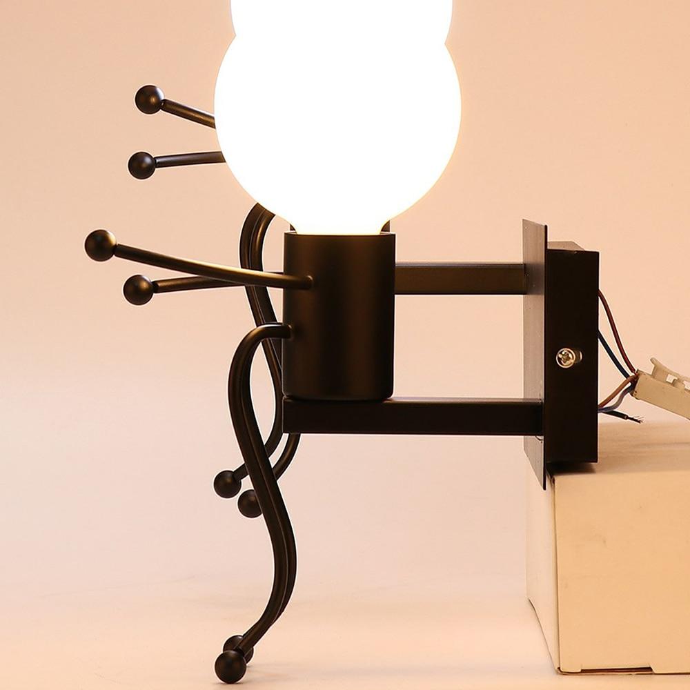 2019 Neuestes Design Beleuchtung Indoor Metall Led Lampe Vintage Wand Licht Industrie Retro Wand Lampen Schlafzimmer Persönlichkeit Wenig Menschen Ohne Birne