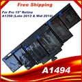 95Wh 11,26 V A1494 Batterie Für Apple Macbook Pro 15
