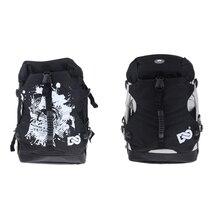 2Pcs Skating Boot Backpack, Skates Shoes Carry Bag with Adjustable Shoulder Strap