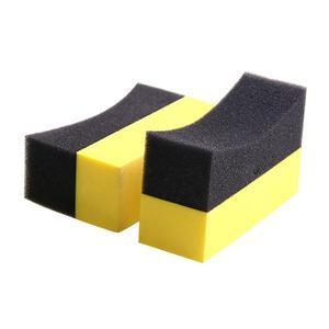 Image 2 - Professional 2PCS Multi functional Car Sponge Cleaning EVA Household Sponge Of Peak Performance Car Accessories