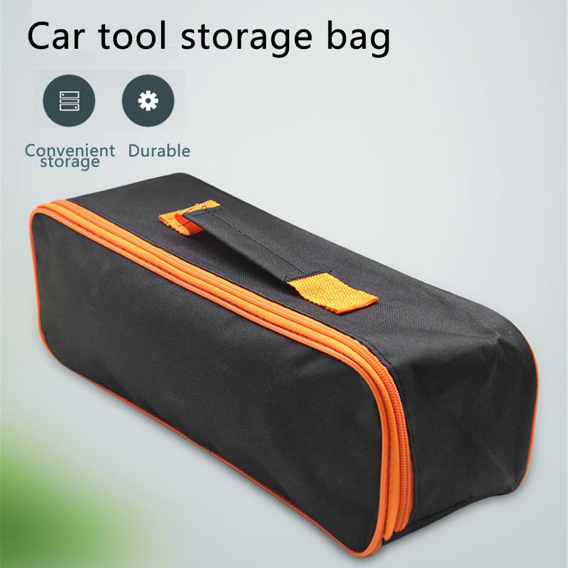 Portable Handheld Wireless Vacuum Cleaner Storage Bag Organizer Dustproof With Handle High Quality Car Cleaning Accessories
