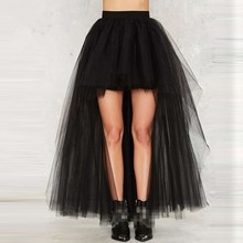 купить Black Swallowtail Skirts Vintage  Gothic Clothing Plus Size Steampunk Skirts Women Long Burlesque Corset Skirt дешево