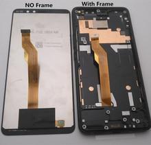 Azqqlbw เดิมสำหรับ HTC U11 ดวงตา (สำหรับ U11) จอแสดงผล LCD หน้าจอสัมผัสระบบ Digitizer ASSEMBLY สำหรับ HTC Ocean Harmony U11 ตา