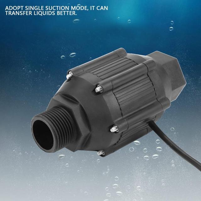 LG50 12V 50W Caliber High Pressure Water Pipeline Pump Single Suction Booster Pump Fuel Gas Petrol Water Liquid Transfer Tool