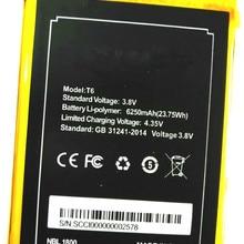 Westrock 6250mAh T6 battery for DOOGEE T6 DOOGEE T6 Pro cell phone