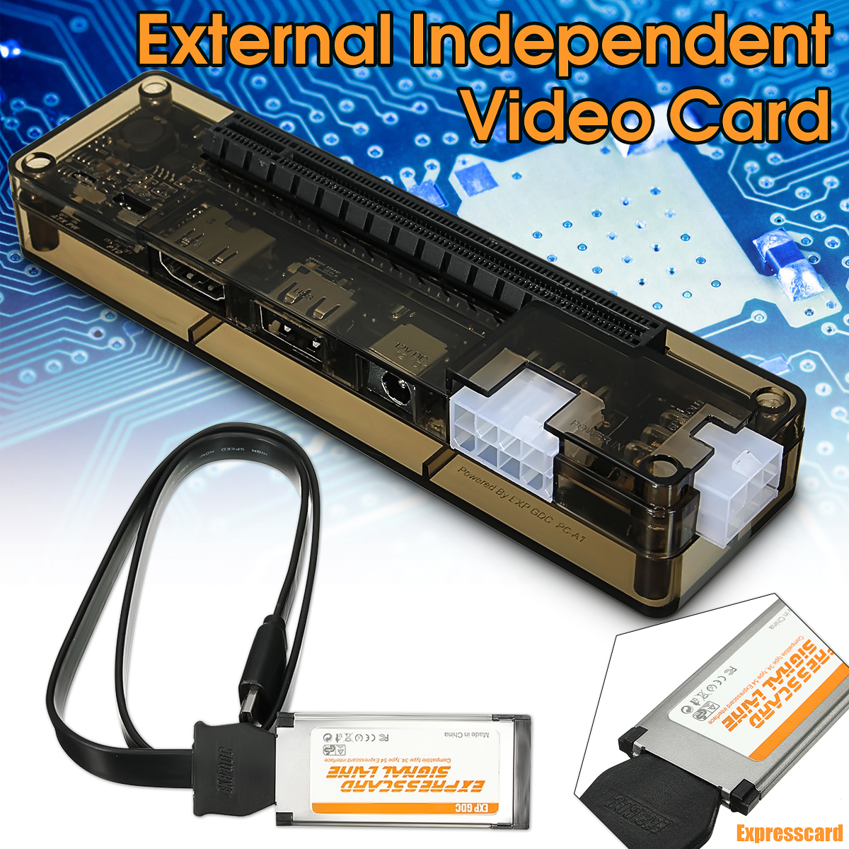 Mini PCI-E Scheda Video Indipendente Dock EXP GDC Fit Bestia Del Computer Portatile Esterno Esterno Scheda Video Indipendente Dock Express Card