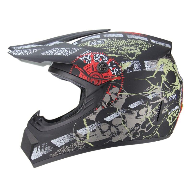 Livraison gratuite moto adulte motocross hors route casque ATV Dirt bike descente vtt DH course casque cross casque capacetes - 2