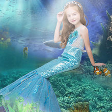 53f2f362aa5 Enfants scène Piano Coustume fleur garçon filles sirène petite robe queue de  poisson jupe pour carnaval maquillage fête Performa.