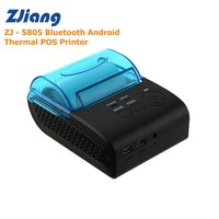 Zjiang ZJ 5805 Portable 58mm thermal printer Bluetooth Android Thermal POS Receipt Printer Bill Machine For Supermarket Printer