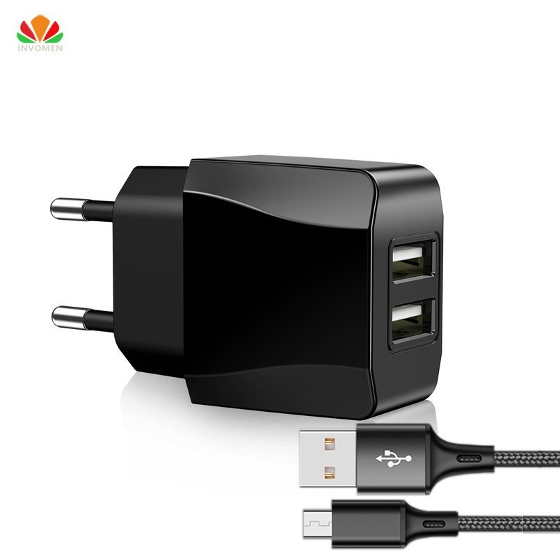 SONOVO CE EU AC/DC adapter mobile phone charger 2-port USB Charger 2A Power charge for iPh