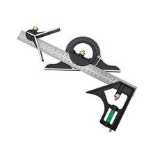 Tools Measuring-Set Mitre Ruler Protractor Combination Angle-Finder Spirit-Level Aluminum-Alloy