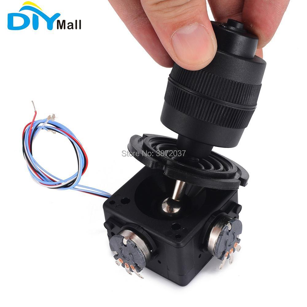 Home Automation Modules Friendly Diymall 4-axis Joystick Potentiometer Button Tool Jh-d400x-r2 5k/jh-d400x-r4 10k Ohm 4d