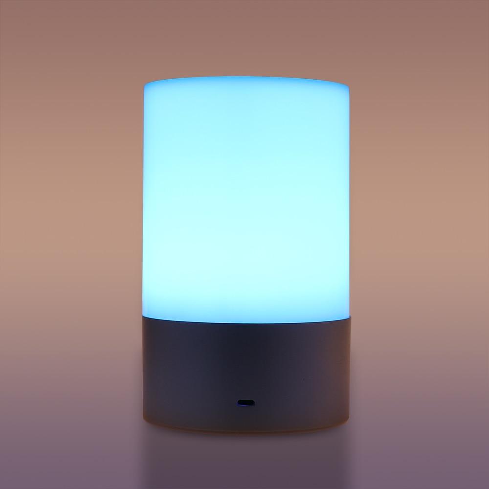 Schreibtischlampen AnpassungsfäHig Usb Aufladbare Touch Schalter Bluetooth Glare Bunte Rgb Led Nacht Licht Innen/nacht Lampen Kinder Lampe Hindernis Entfernen Lampen & Schirme