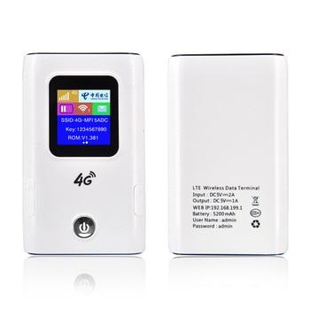 4G Wifi Router Car Mobile Hotspot Wireless Broadband Pocket Mifi Unlock Lte Modem Wireless Wifi Extender Repeater Mini Router 1