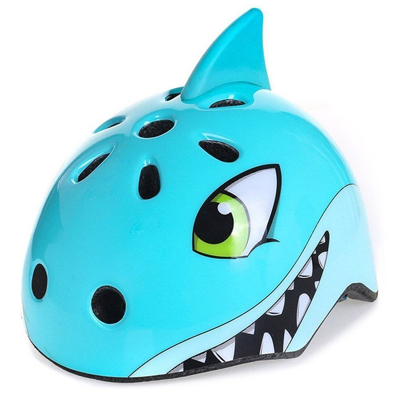 3 - 8 Years Old Kid Outdoor Sports Safety Helmet Multiple Vents Cute Animal Shape 48 - 52cm Cartoon Hat Protect Baby'S Head