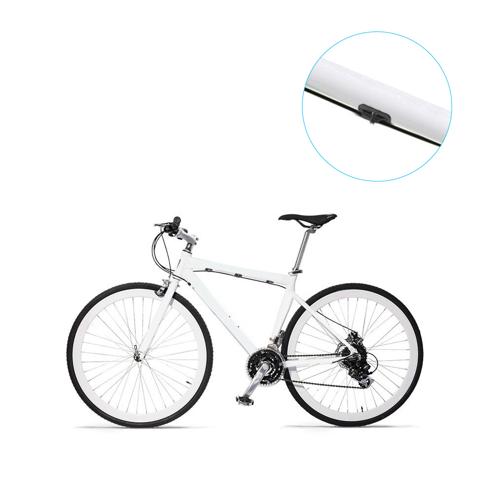 Cycle Bicycle Bike Brake Gear Cable S Shape Clips Buck Holes House Guides 10pcs