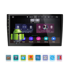 hot deal buy wifi android 8.0 2 din 10.1'' car multimedia player autoradio car cd/dvd player touch screen gps navigation