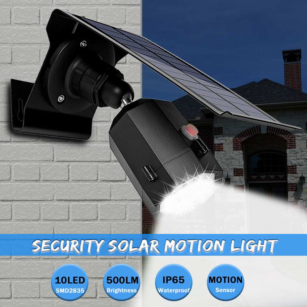 500LM 10 LED 5W Solar Wall Lamp Light Waterproof PIR Motion Sensor Night Lights Garden Street Light Outdoor Lighting 3 Modes500LM 10 LED 5W Solar Wall Lamp Light Waterproof PIR Motion Sensor Night Lights Garden Street Light Outdoor Lighting 3 Modes