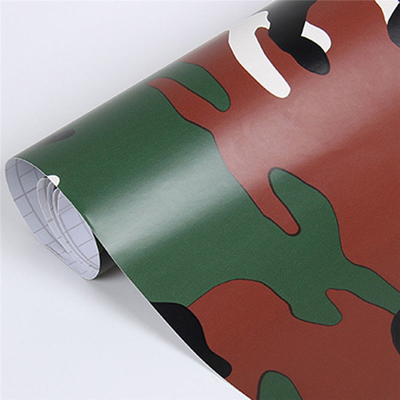Car Auto Truck Camo 3D Camouflage DIY Sheet Roll Film Sticker Decal 30*152cm New