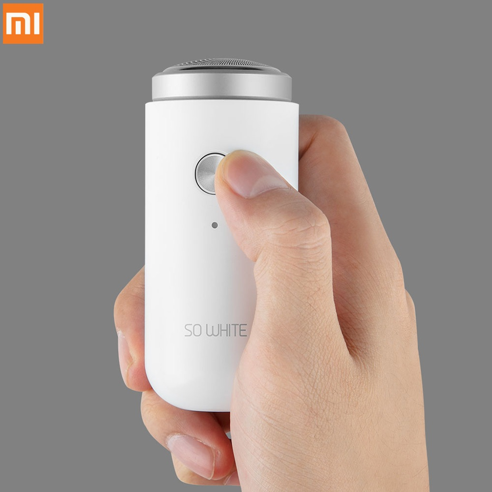 Xiaomi So White Ed1 Mini Electric Shaver Deep Clean Long Duration Portable Shaver Usb Charge Dry Wet Use From Xiaomi Youpin Curing Cough And Facilitating Expectoration And Relieving Hoarseness Consumer Electronics Smart Remote Control