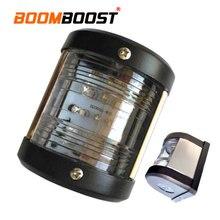 1 шт., 12 В, водонепроницаемый навигационный светодиодный светильник из нержавеющей стали, 135 градусов, хвостовый кормовой светильник, лампа для лодки, морской яхты