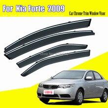 Car Sun Visor Window Rain Shade for Plastic Accessories For Kia Forte 2009-2017