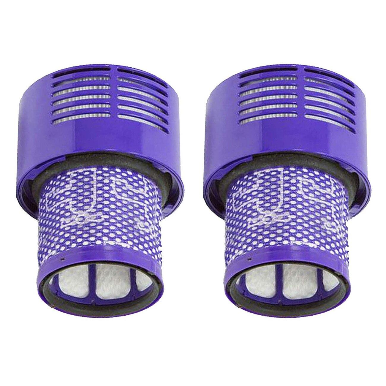 Моющийся фильтр для Dyson V10 SV12 Циклон животного абсолютная всего чистым пылесос (упаковка из 2)