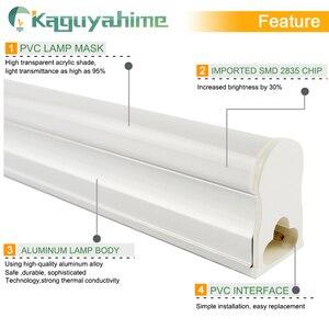 Image 2 - Kaguyahime 30cm 60cm integrado T8 T5 tubo LED 6W 10W 220V LED de tubo fluorescente T5 tubo de luz de iluminación de la lámpara 300mm 600mm