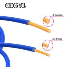 цены PTFE Tube TeflonTL-Feeder hotend RepRap Rostock Bowden Extruder 1.75/3.0mm filament ID1.9mmOD4mm Capricornus tube