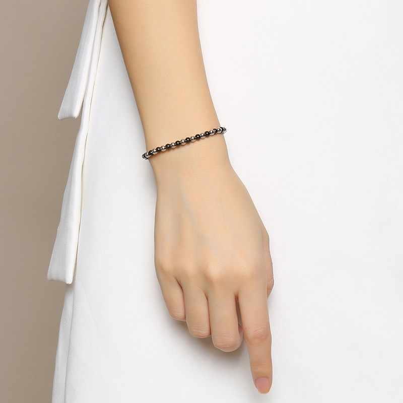 Vnox Handmade Braid Rope Bracelets for Women Man with Lace-up Size Adjustable Unisex Beads Strand Bracelet Bangle Bijoux