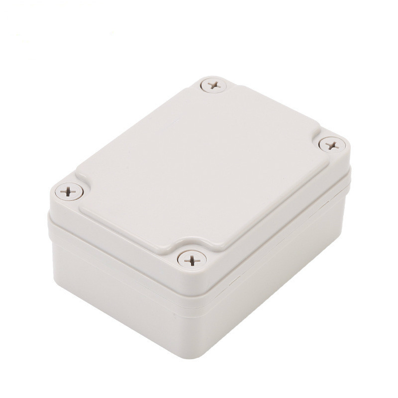 110*80*50 Transparent Outdoors Monitor Light Volt Control ABS Plastic Shell Waterproof Connection Box case enclosure
