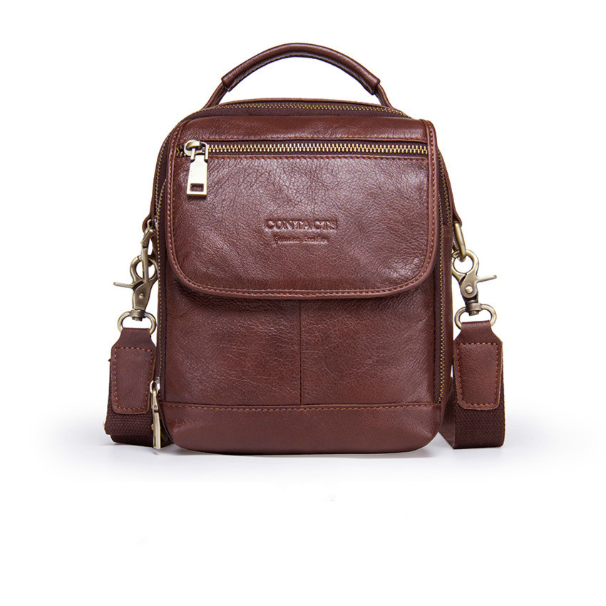New Arrival Fashion Men Real Genuine Leather Shoulder Bags Men s Messenger Bag Crossbody Bags For