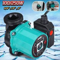3 Speed 220V Central Heating Circulator Mute Boiler Hot Water Circulating Pump Cast Iron F Class Insulation IP42 Protection
