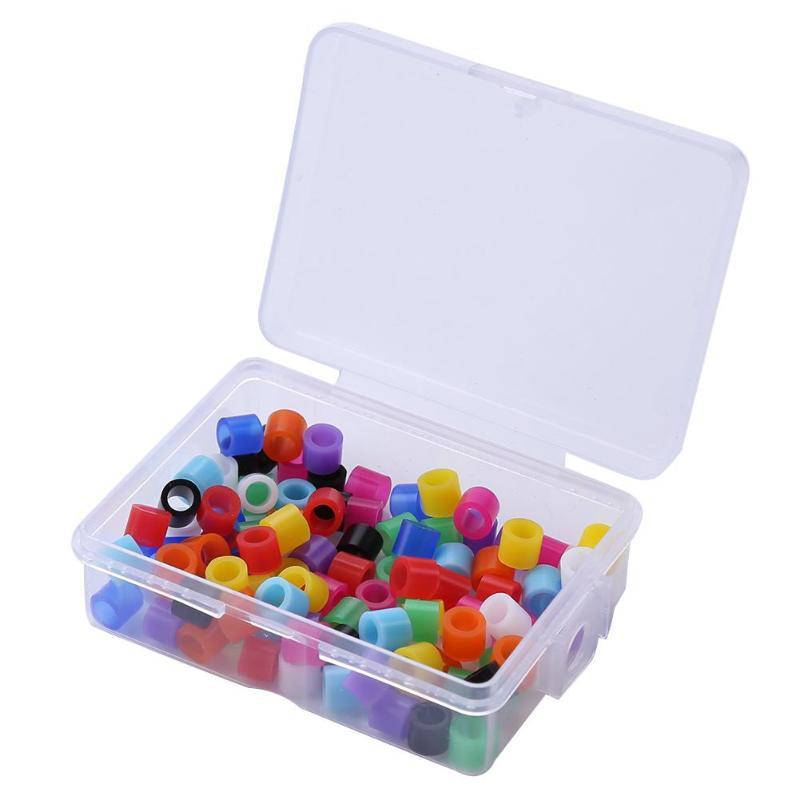 1 Box Universal Silikon Autoklavierbar Dental Instrument Farbe Code Ringe Elegante Form