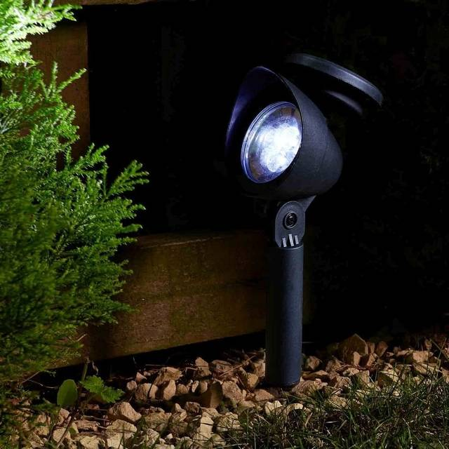All Weather Durable Solar Walkway Lights Great For Outdoor Lightning Spot Light With 3 Led