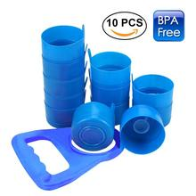 3-Piece Set Reusable Splash Bottle Cap Environmental Friendly Plastic Anti-overflow Removable Easy Cleaning