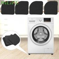 4 pçs/set Tapete À Prova de Choque para o Pé de Móveis Armário Geladeira Máquina de Lavar Roupa Anti Vibração Pad Gaveta Forros de Prateleira Forro de gaveta e prateleira Casa e Jardim -